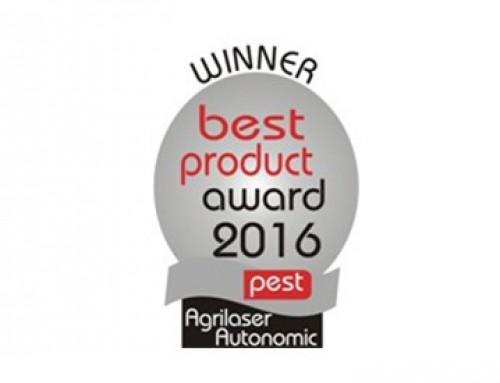 Agrilaser Autonomic 2016 Pest Best Product award
