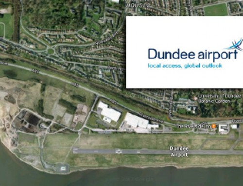 Bird deterrent laser against geese at Dundee Airport